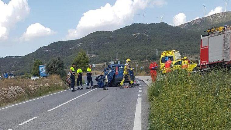 Imatge de l'accident, a la TP-2311