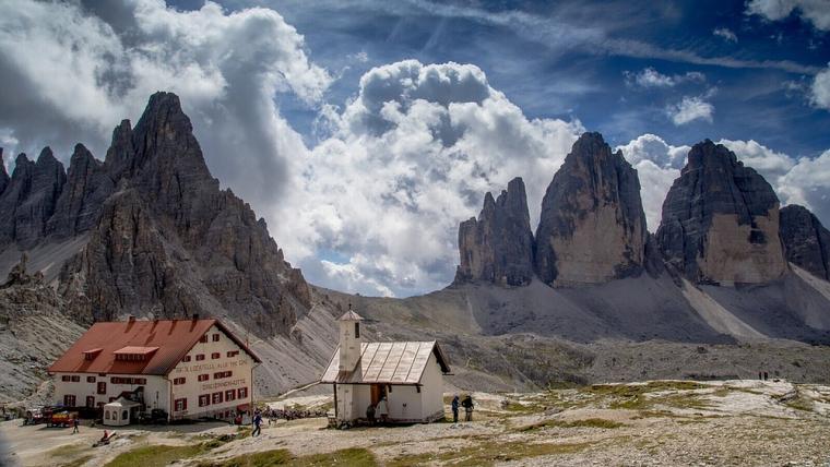 La parella d'alpinistes va haver de ser salvada després d'intentar pujar un dels Tres Cims de Lavaredo