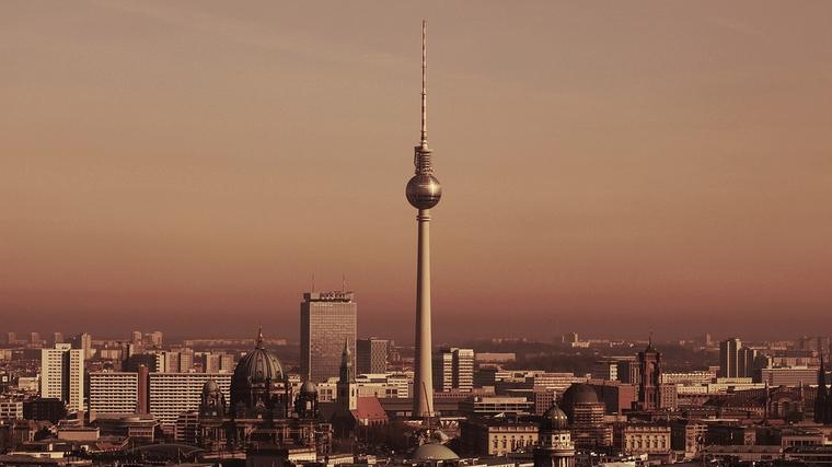 La torre de televisión de Berlín
