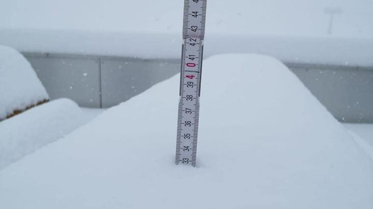 Más de 30 cm de nieve nueva en la estación de esquí Stubaier Gletscher