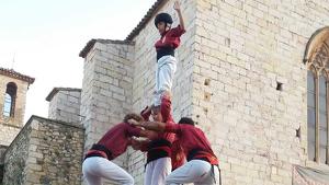 3de6 amb l'agulla dels Torraires de Montblanc a la diada de Sant Miquel