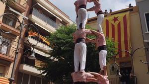 3de8 dels Xiquets de Tarragona al Serrallo
