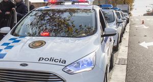 5 cotxes patrulla