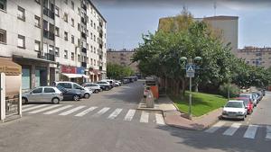 A l'esquerra de l'imatge, el bloc Sant Andreu de SPiSP, on Assalam vol obrir un centre de culte.