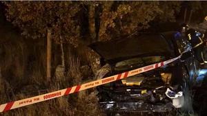 Accidente con una mujer fallecida en la M-600, en Valdemorillo