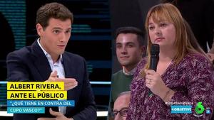 Albert Rivera i Edurne de Barakaldo, la ciutadana basca que va «canviar» el nom del candidat