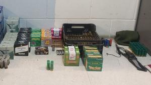 Alguns dels objectes robats del magatzem