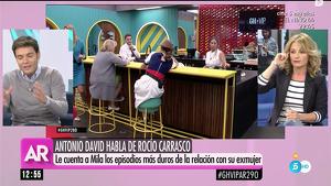 Antonio David cuenta episodios vividos con Rocío Carrasco