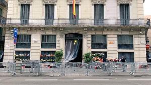 Aquesta és la imatge que dona avui la Prefectura Superior de Policia a Barcelona