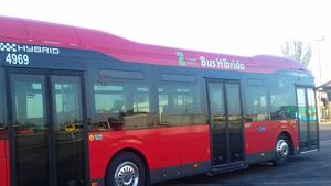 Autobus de Avanza Zaragoza