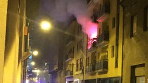 balcó bengala ferida Girona