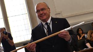 Carles Pellicer rep, novament, la vara d'alcalde