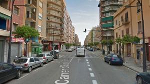 Carrer Emilio Baró, en València