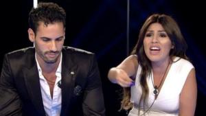 Chabelita y Asraf Beno vuelven a discutir en una discoteca