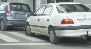 Cotxes mal aparcats a Solsona