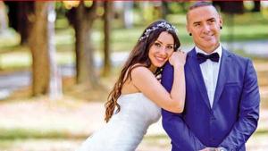 Dinio y su mujer Milena
