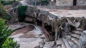 Efectes dels aiguats a Vimbodí i Poblet.