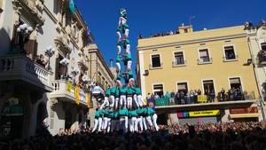El 3de10fm dels Castellers de Vilafranca ha estat el millor castell que s'ha vist a la diada de Tots Sants