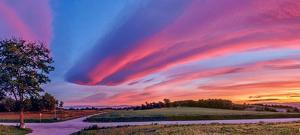 El cielo será espectacular los próximos amaneceres y atardeceres, por la presencia de nubes de viento y cirrus