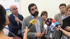 El conseller El Homrani ha presentat el reforç a les polítiques d'ocupació tarragonines aquest divendres