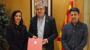 El conveni s'ha signat aquest matí a l'Ajuntament de Tarragona.