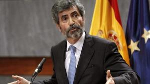 El fins ara president del Tribunal Suprem, Carlos Lesmes