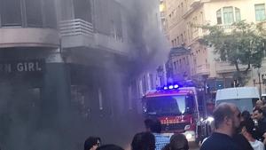 El fum s'ha estés als locals annexos i a les vivendes superiors