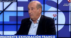 El nét de Franco ha visitat Antena 3