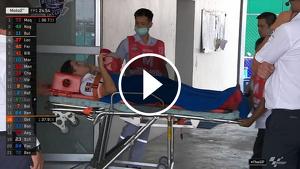 El pilot ha estat traslladat a un hospital de la ciutat perquè li puguin fer més proves