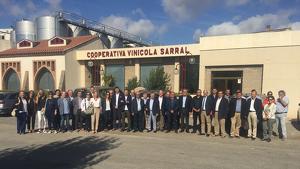 El Ple de la Cambra de Reus s'ha celebrat a la Cooperativa Vinícola de Sarral.