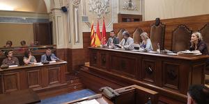 El ple de la Diputació de Tarragona ha aprovat una declaració dura contra l'amenaça d'Endesa