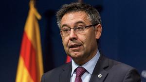 El president blaugrana ha condemnat la violència