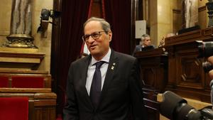 El president Quim Torra ha demanat no criminalitzar les mobilitzacions