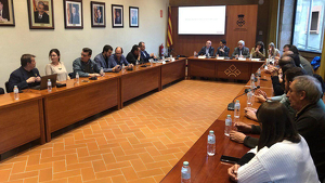 Els alcaldes de la comarca participen al Consell d'Alcaldes Extraordinari que es celebra a la comarca