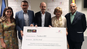Els clients de Bonpreu i Esclat donen més de 52 mil euros a la Fundació ACE