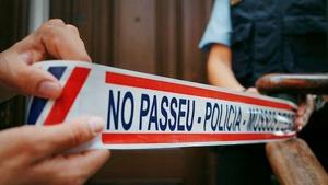 Els Mossos busquen l'agressor a Barcelona