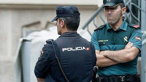 Els Mossos d'Esquadra amb la Policia Nacional i la Guàrdia Civil