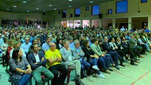 Els quatre Consells Comarcals, una cinquantena d'alcaldes i 400 regidors celebren una assemblea a Xerta, el poble natal de l'expresidenta del Parlament