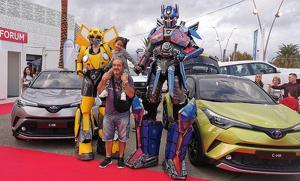 Els Transformers Autobots viatjaran de Cybertron a ExproReus, gràcies a Autoforum