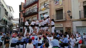 Els Xiquets de Torredembarra van celebrar diumenge la seva diada de presentació