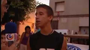 Emilio José en el vídeo de Comarcal TV que el va fer famós