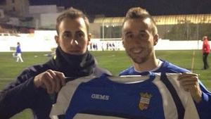 Emilio Jose, jugador del Club Deportiu la Llosa