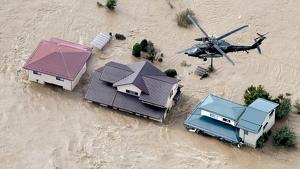 En algunas regiones el fuerte huracán dejó más de 900 l/m2