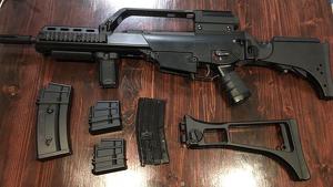 Es tracta d'un fusell d'assalt H&K G36K