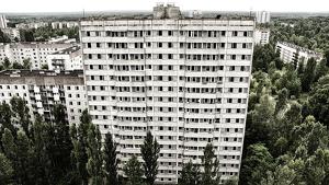 Estructuras abandonadas de Prípiat, en Chernóbil