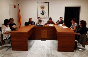 Fotografia de la sessió del Ple de divendres passat en el qual es va aprovar el projecte