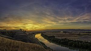 Fotografía del Guadalquivir cerca de Córdoba