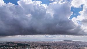 Habrá más nubes y probabilidad de lluvias en el este mediterráneo este jueves, y las TºC serán sensiblemente más bajas allí