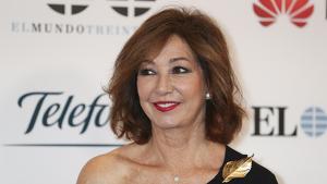 Imagen de Ana Rosa Quintana durante el evento