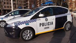 Imagen de archivo de la Policía de Logroño.